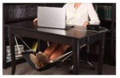 Using a Foot Hammock can prevent back pain