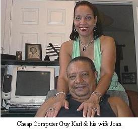 Cheap Computer Guy and wife Joan