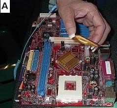 Computer Processor Installation
