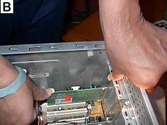 Computer Sound Card - Insertion