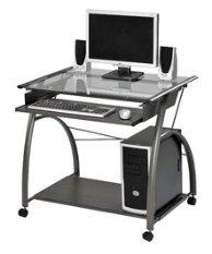 Computer desk - Holds desktop or laptop