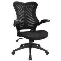 High back mesh chair designed for long working hours!