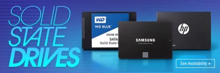 Get the best solid state drives here!